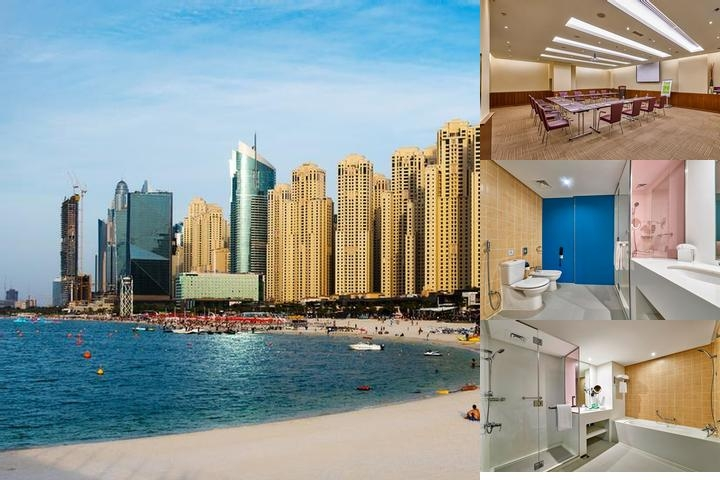Hawthorn Suites by Wyndham Dubai Jbr photo collage
