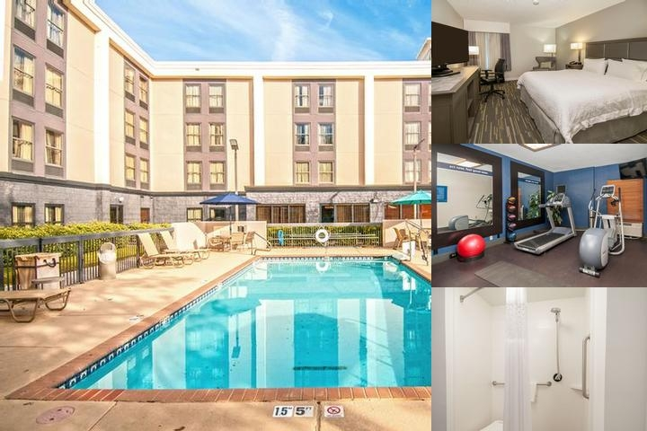 Hampton Inn Bossier City photo collage