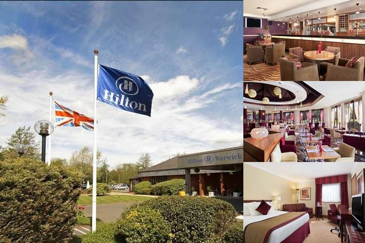 Hilton Warwick / Stratford Upon Avon photo collage
