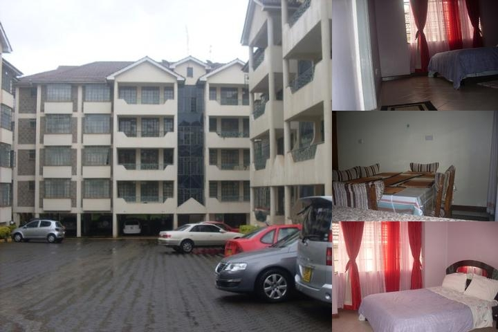 Orchid Apartments Nairobi photo collage