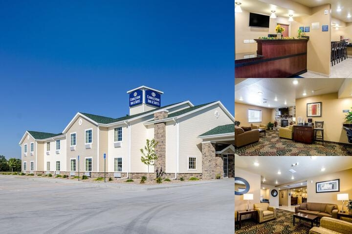 Cobblestone Inn & Suites Cambridge Ne photo collage