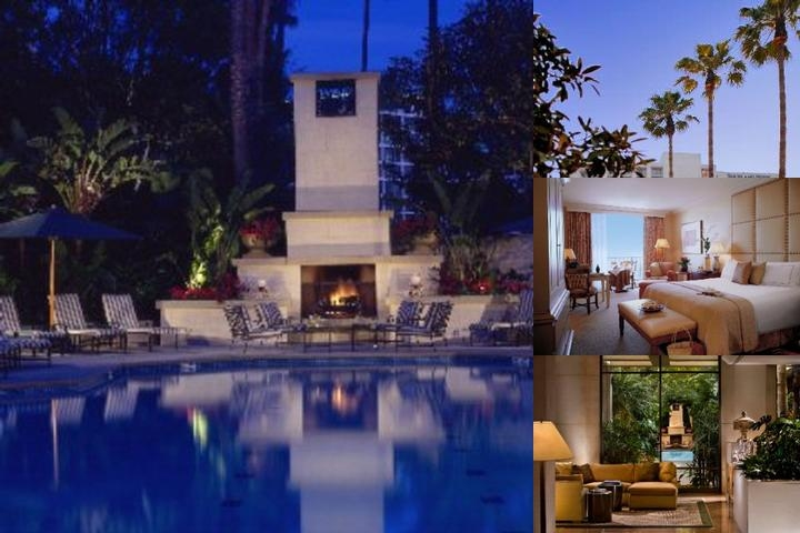 Island Hotel Newport Beach photo collage