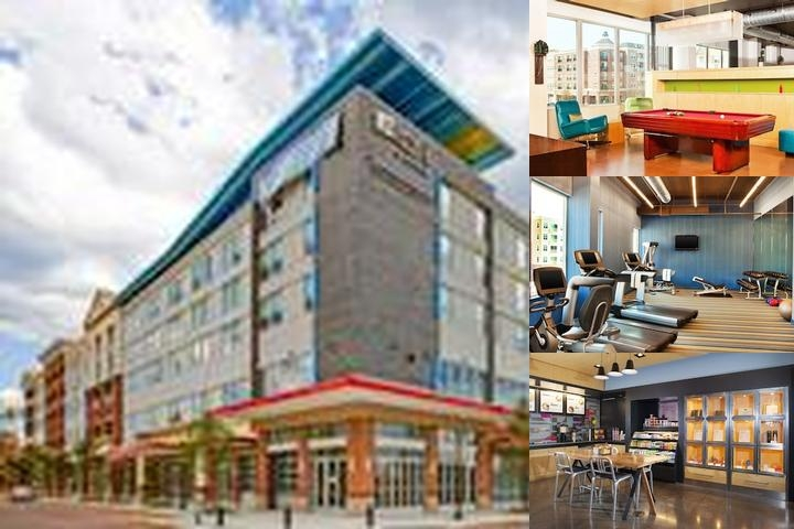 Aloft Richmond West photo collage