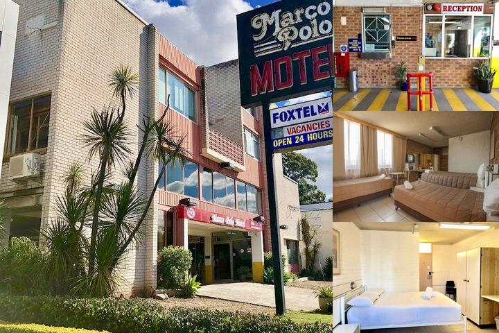 Marco Polo Motor Inn photo collage