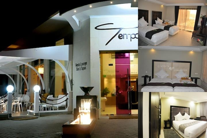 Tempoo Hotel Marrakech photo collage