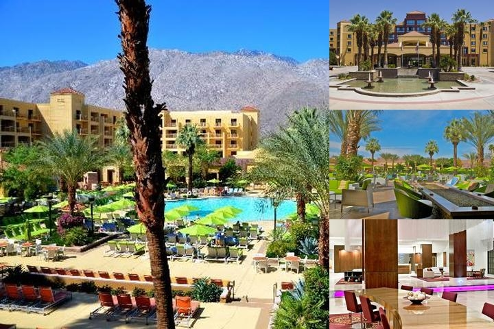Renaissance Palm Springs Hotel photo collage