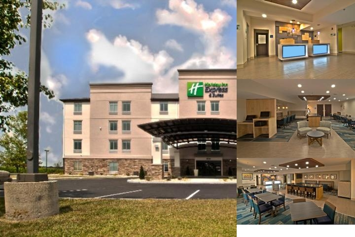 Holiday Inn Express & Suites Evansville North photo collage