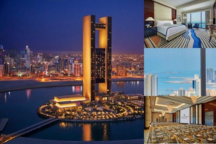 Four Season Hotel Bahrain Bay photo collage