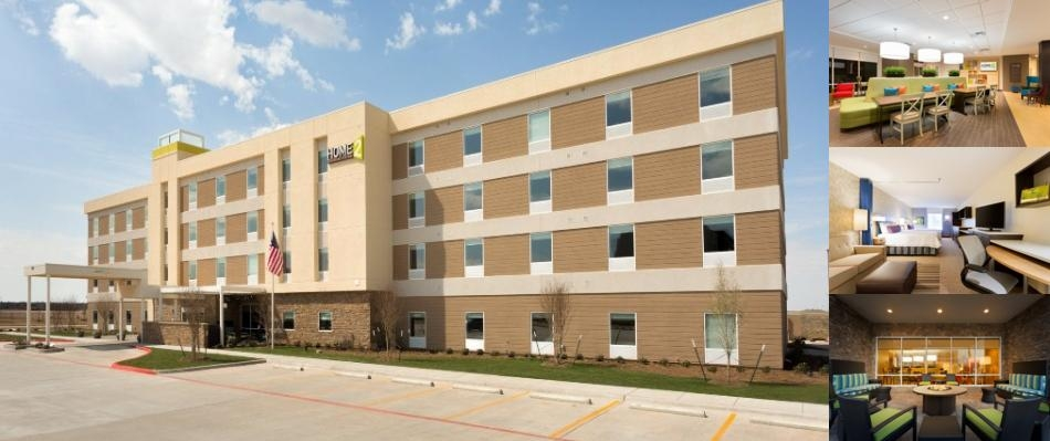 Home2 Suites by Hilton Midland photo collage