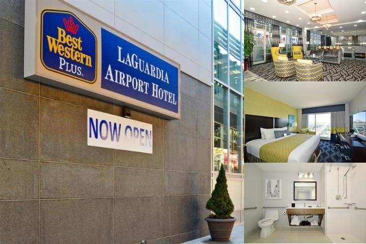 Best Western Plus Laguardia Airport Hotel Queens photo collage