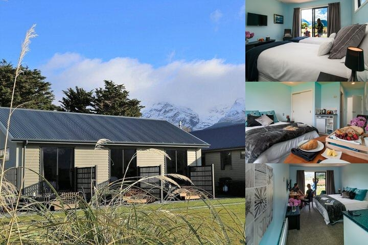 Glenorchy Peaks B & B photo collage