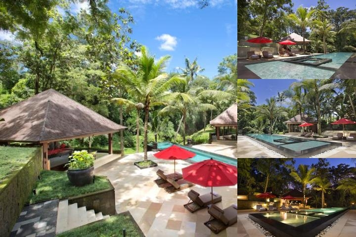 Villa The Sanctuary Bali photo collage
