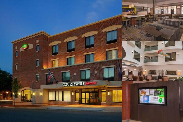 Courtyard by Marriott Fredericksburg Historic Dist photo collage