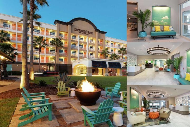 Doubletree by Hilton Galveston Beach photo collage