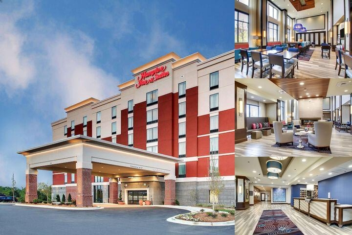 Hampton Inn & Suites Greenville Airport photo collage