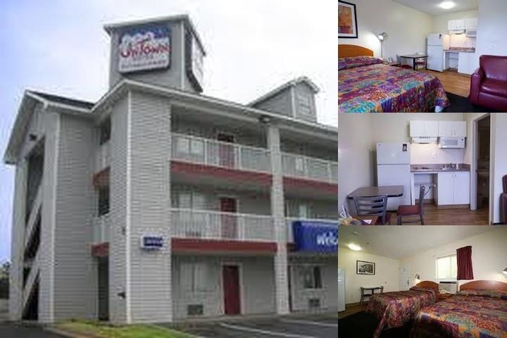 Intown Suites Mobile West photo collage