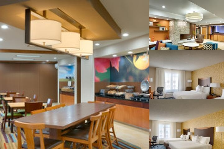 Fairfield Inn & Suites Salt Lake City Airport photo collage