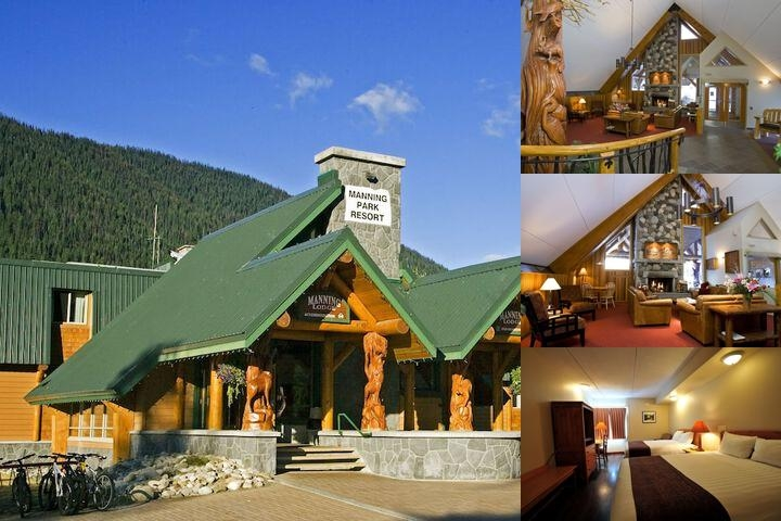 Manning Park Resort photo collage