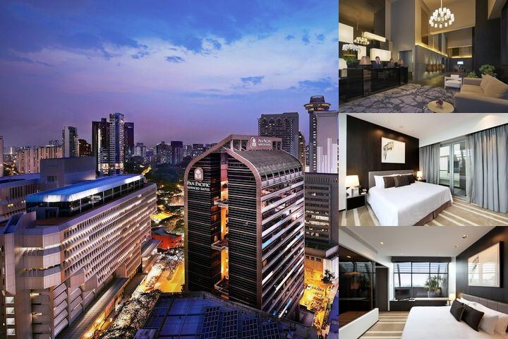 Pan Pacific Serviced Suites Orchard Singapore photo collage