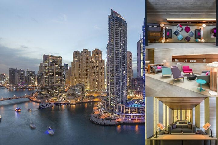 Intercontinental Dubai Marina photo collage