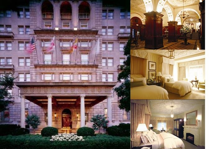 The Hay Adams photo collage
