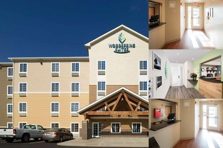 Woodspring Suites Oklahoma City Airport photo collage