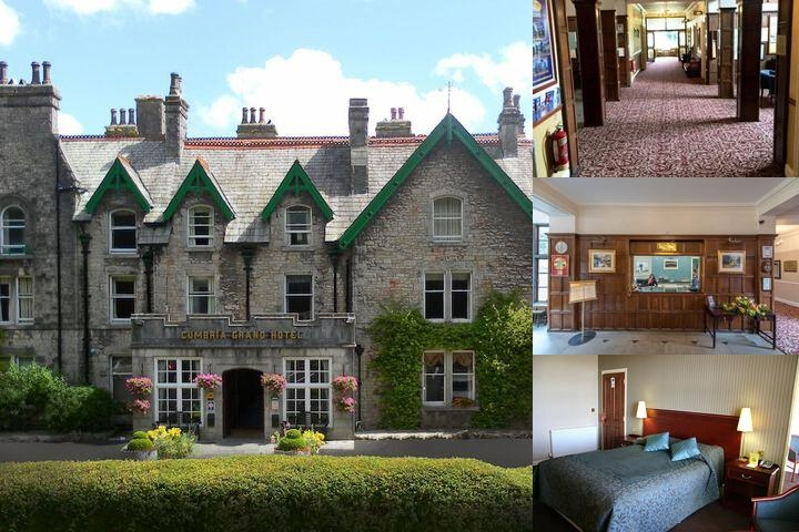 Cumbria Grand Hotel photo collage