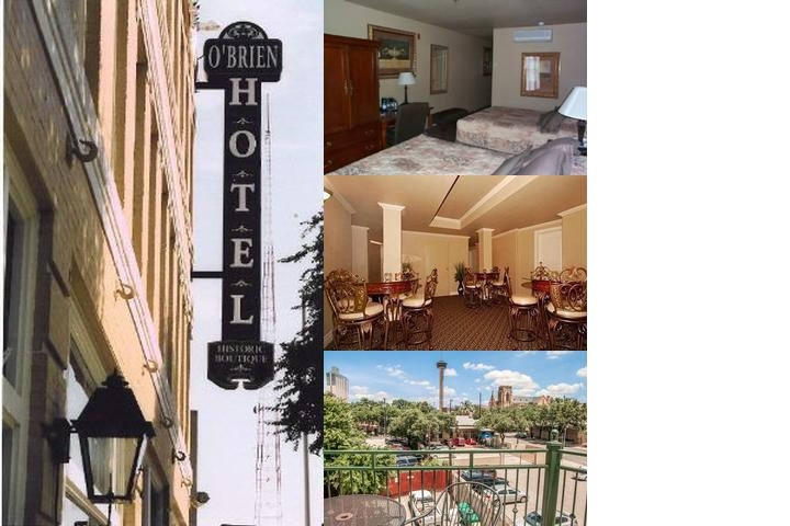 O'brien Historic Riverwalk Hotel photo collage