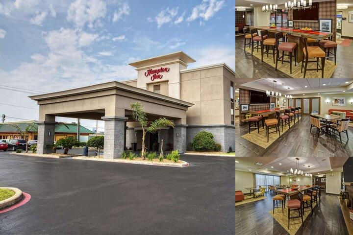 Hampton Inn Houston Baytown Texas photo collage