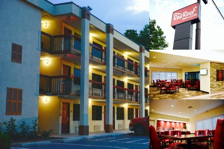 Red Roof Inn & Suites Commerce – Athens photo collage