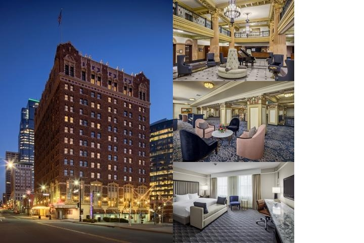 Hilton President Kansas City photo collage
