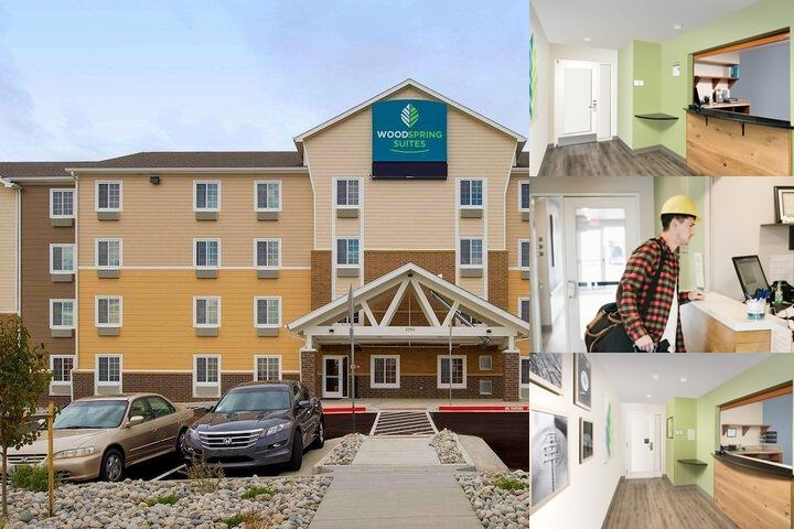 Woodspring Suites Colorado Springs Co photo collage