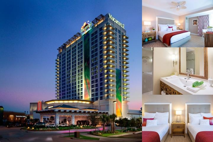 Margaritaville Resort Casino photo collage