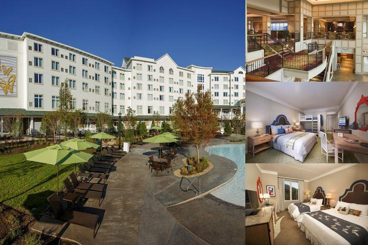 Dollywood's Dreammore Resort & Spa photo collage