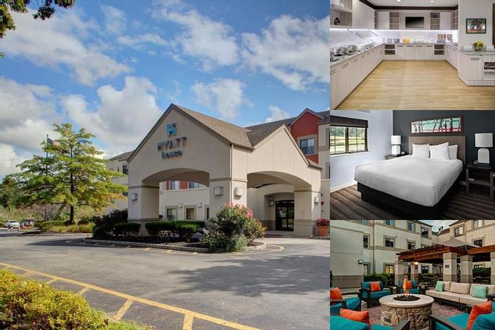 Hyatt House Parsippany Whippany photo collage