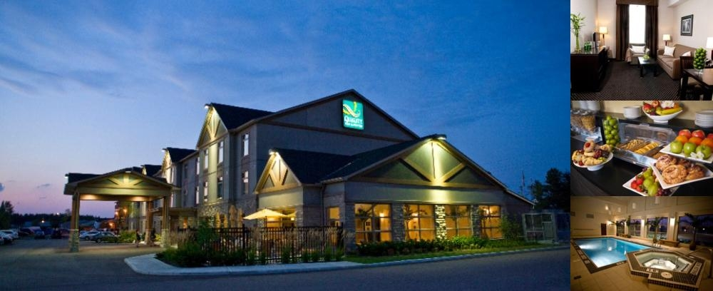 The Quality Inn & Suites Petawawa photo collage