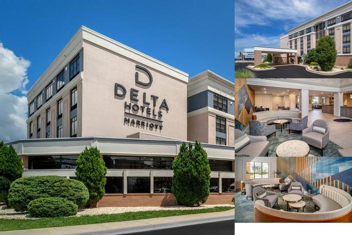 Delta Hotels Huntington Downtown photo collage