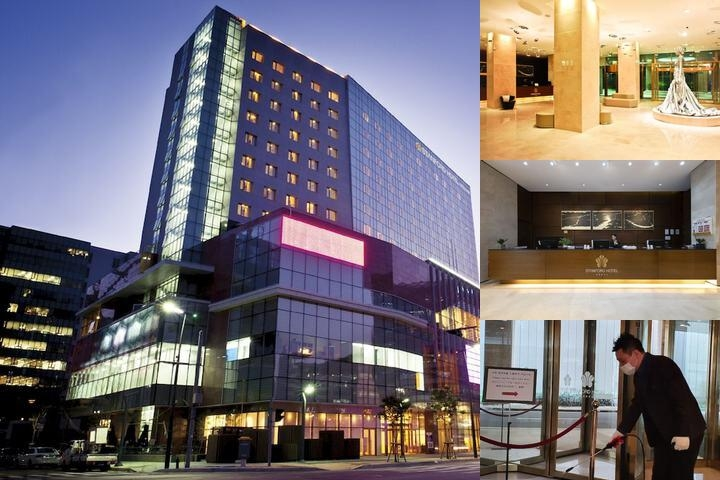 Stanford Seoul Hotel photo collage