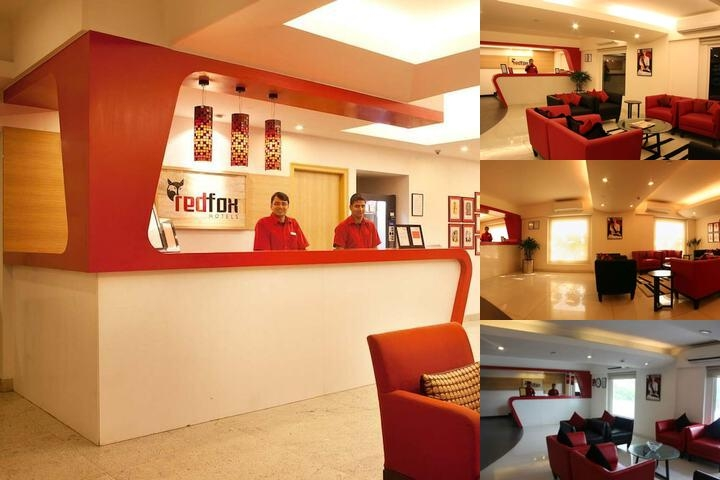Red Fox Hotel Jaipur photo collage