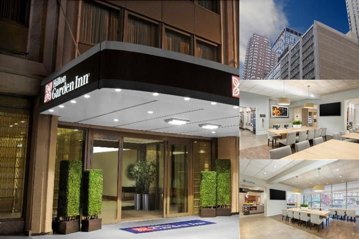 Hilton Garden Inn Garden Inn Times Square photo collage
