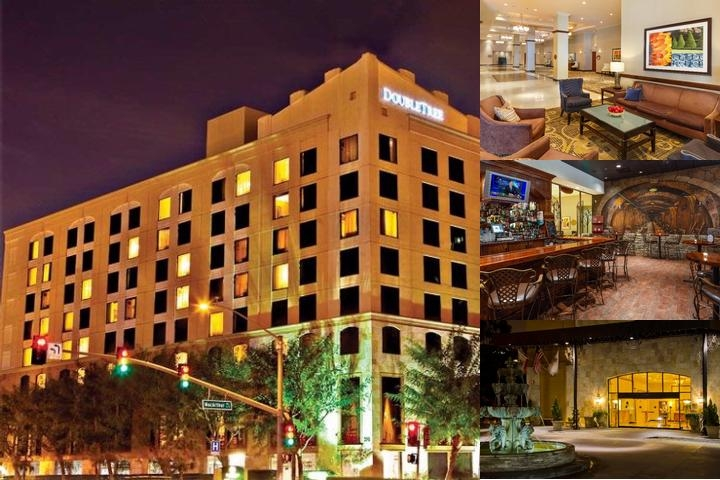 Doubletree Santa Ana Orange County Airport photo collage