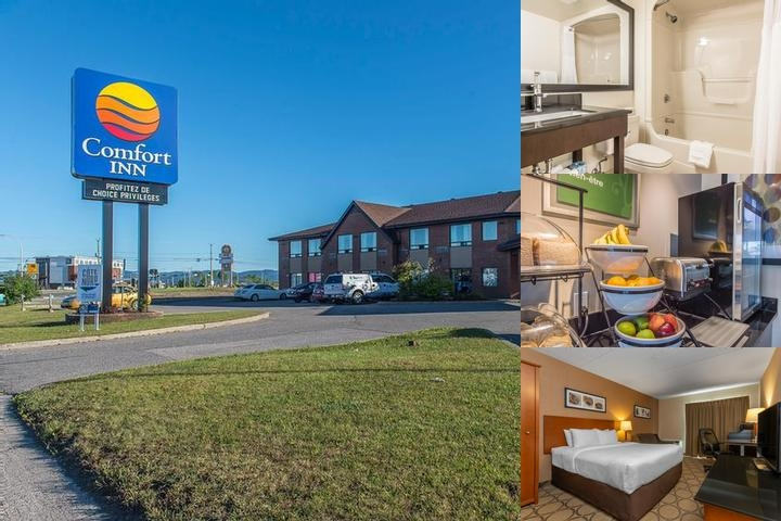 Comfort Inn Sept Iles photo collage