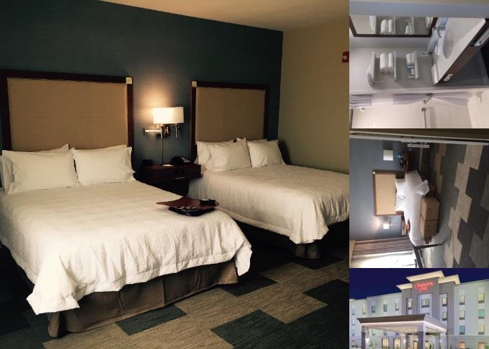 Hampton Inn Snyder photo collage