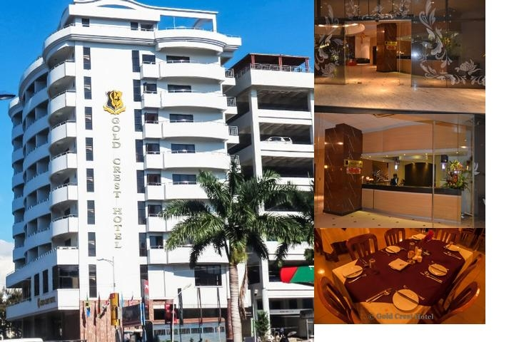 Gold Crest Hotel photo collage