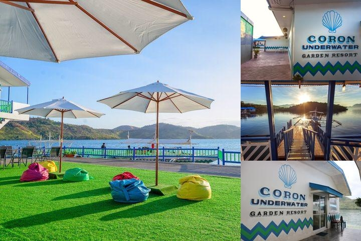Coron Underwater Garden Resort photo collage