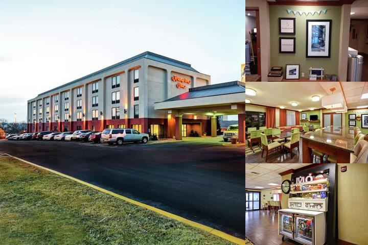 Hampton Inn Westport photo collage