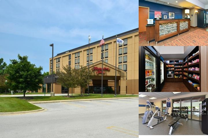 Hampton Inn Chicago Carol Stream photo collage