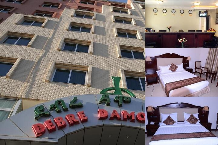 Debredamo Hotel photo collage