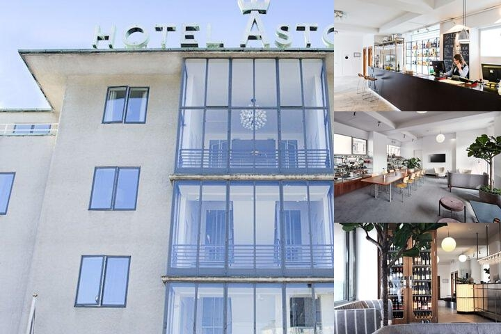 Hotel Astoria photo collage