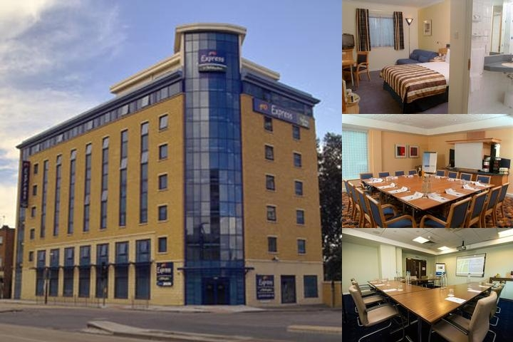 Holiday Inn Express London Stratford photo collage